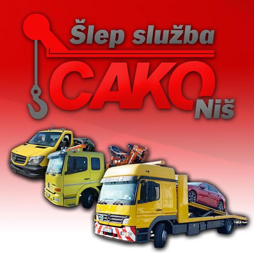 Šlep služba Niš - CAKO
